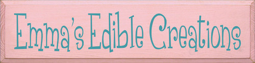 CUSTOM Emma's Edible Creations 9x36