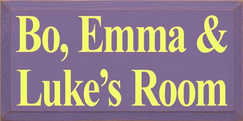 CUSTOM Bo, Emma & Luke's Room 18x9