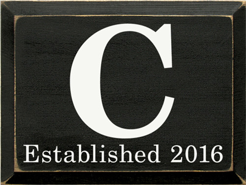 CUSTOM C Established 2016 12x9