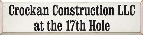 CUSTOM Crockan Construction LLC 36x9