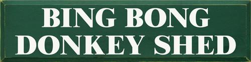 CUSTOM Bing Bong Donkey Shed 36x9
