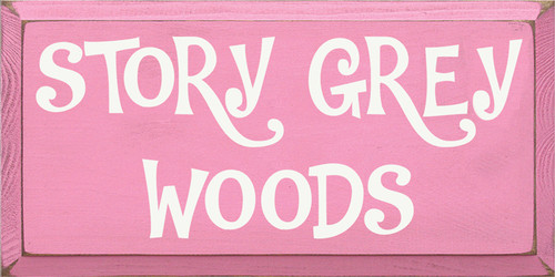 CUSTOM Story Grey Woods 18x9