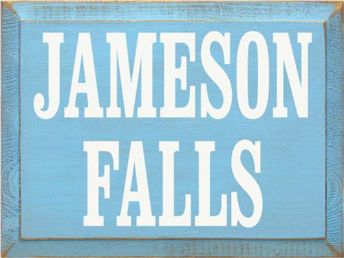 CUSTOM Jameson Falls 12x9