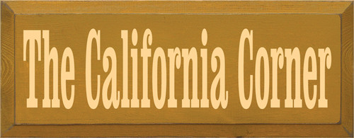 CUSTOM The California Corner 18x7