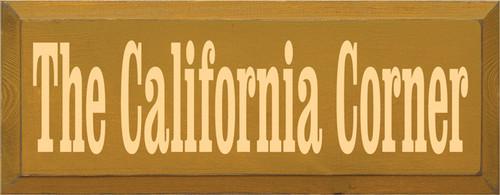 CUSTOM The California Corner 18x7