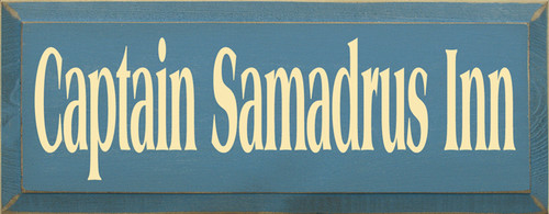 CUSTOM Captain Samadrus Inn 18x7