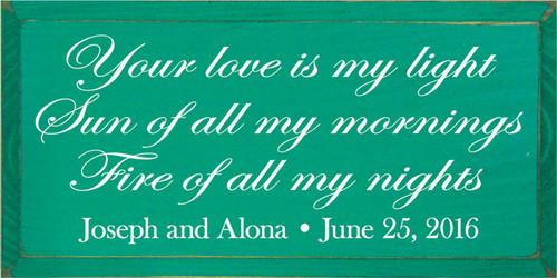 CUSTOM Joseph and Alona 30x15