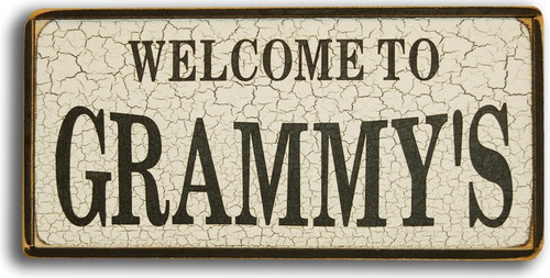 Custom Welcome To [Grandparents] Wood Sign