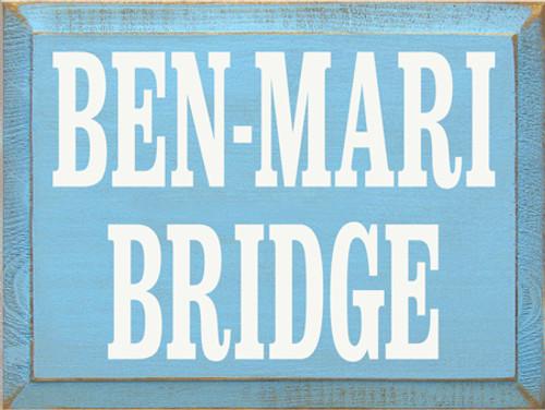 CUSTOM Ben - Mari Bridge 12x9