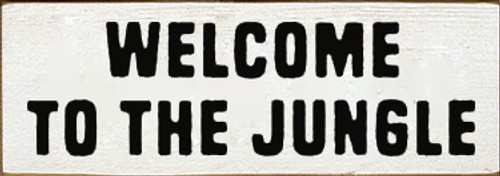 CUSTOM Welcome To The Jungle 10x3.5