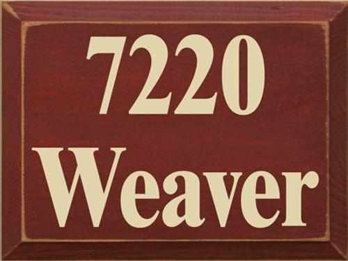 CUSTOM 7220 Weaver 12x9