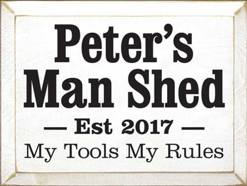 CUSTOM Peter's Man Shed 12x9