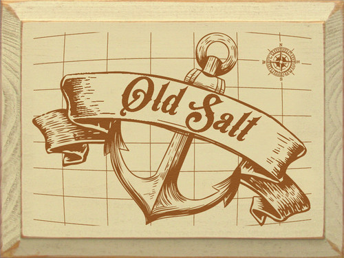 Wood Sign - Old Salt