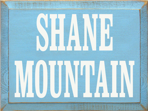CUSTOM  Shane Mountain 12x9