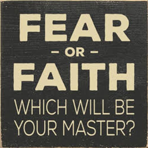 CUSTOM Fear or Faith 7x7