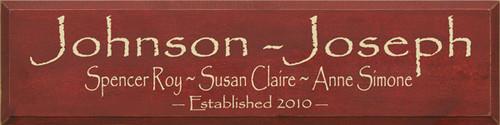 CUSTOM Johnson-Joseph 9x36