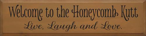 CUSTOM Welcome To The Honeycomb Kutt 9x36