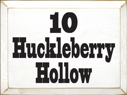 CUSTOM 10 Huckleberry Hollow 9x12