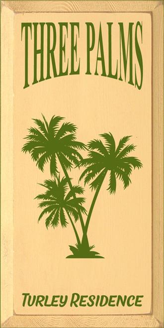 CUSTOM Three Palms 9x18