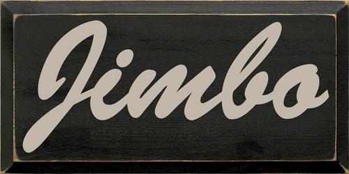 CUSTOM  Jimbo 9x18