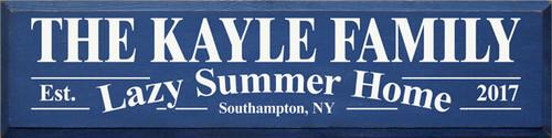 CUSTOM The Kayle Family 9x36
