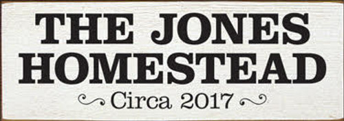 CUSTOM The Jones Homestead 3.5x10