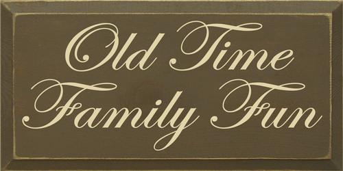 CUSTOM Old Time Family Fun 9x18