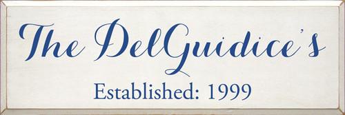 CUSTOM The DelGuidice's 12x36