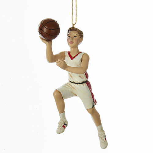 Basketball Boy Personalized Ornament 6""