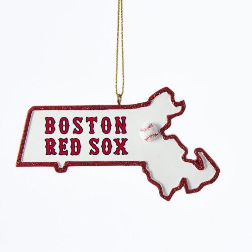 Boston Red Sox Massachusetts Ornament