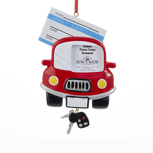 Driver's License Photo Frame Personalized Ornament