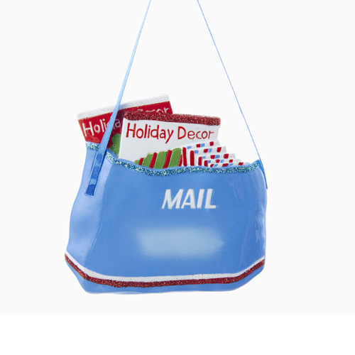 Mail Bag Personalized Ornament