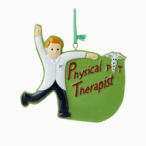 Physical Therapist Personalized Ornament 4 Inch