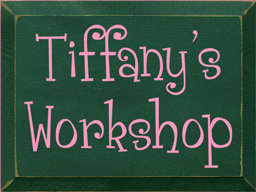 CUSTOM Tiffany's Workshop 9x12