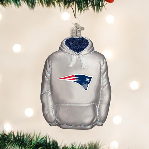 New England Patriots Hoodie Ornament