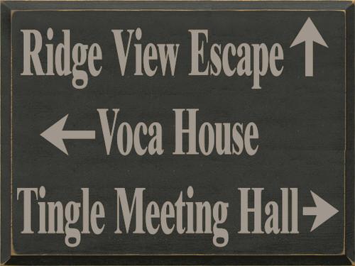 CUSTOM Ridge View Escape 18x24
