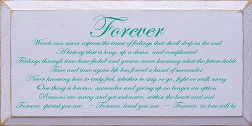 CUSTOM Forever 9x18