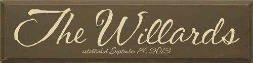 CUSTOM The Willards 9x36