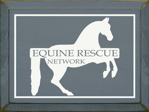 CUSTOM Equine Rescue Network 9x12
