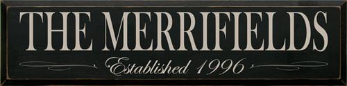 CUSTOM The Merrifields 9x36