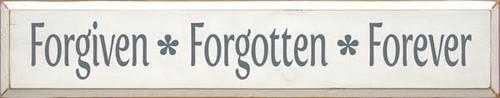 CUSTOM Forgiven * Forgotten * Forever 7x36