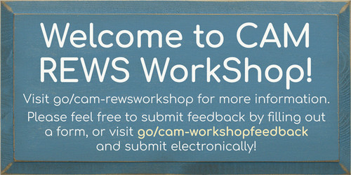 CUSTOM Cam Rews Workshop 9x18