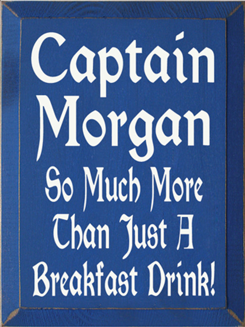 CUSTOM Captain Morgan 9x12