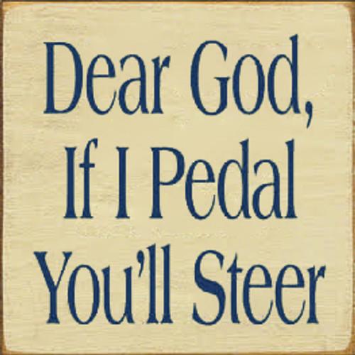 CUSTOM Dear God 7x7