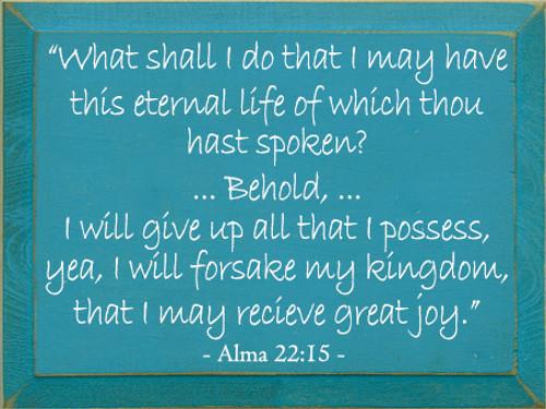 CUSTOM Alma 22:15 9x12