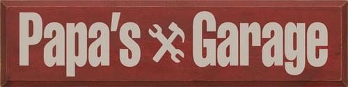 CUSTOM Papa's Garage 9x36