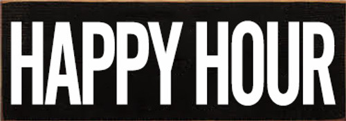 CUSTOM Happy Hour 3.5x10