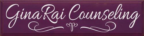 CUSTOM GinaRai Counseling 9x36
