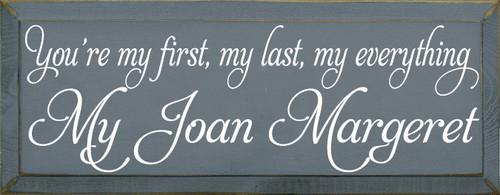 CUSTOM My Joan Margaret 7x18