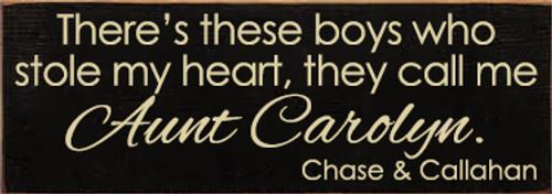 CUSTOM Aunt Carolyn 3.5x10